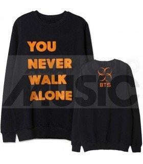 BTS - Sweat YOU NEVER WALK ALONE (Orange / Coupe unisexe)