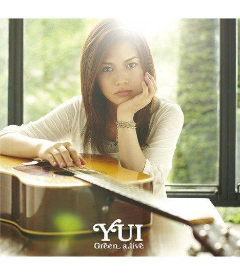 YUI - Green a.live (édition normale japonaise)