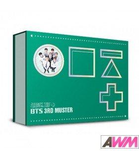 BTS (방탄소년단) BTS 3rd Muster ARMY.ZIP+ (3DVD) (édition coréenne)