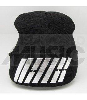 iKON - Bonnet noir - iKON LOGO (Silver)