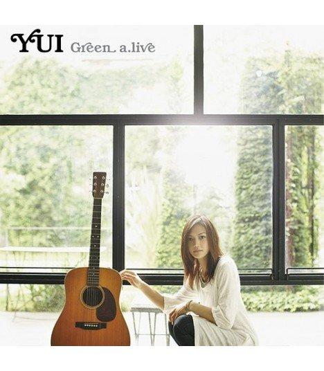 YUI - Green a.live (SINGLE+DVD) (édition limitée japonaise)