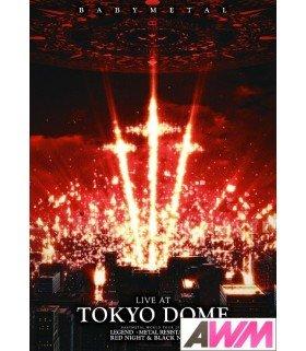 BABYMETAL - LIVE AT TOKYO DOME (DVD) (édition japonaise)