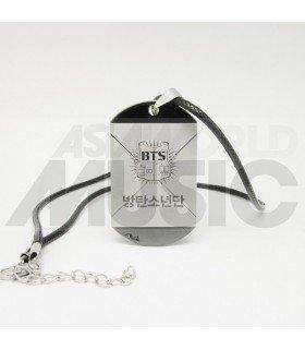 BTS - Collier Plaque ID - BTS BANGTAN BOYS