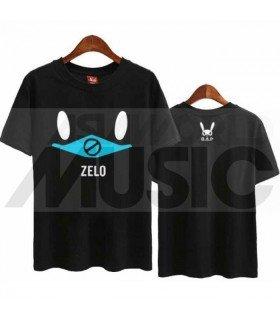 B.A.P - T-shirt MATOKI - ZELO (Black / Coupe unisexe)