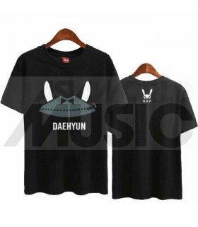 B.A.P - T-shirt MATOKI - DAEHYUN (Black / Coupe unisexe)