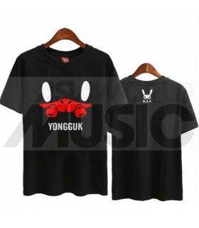 B.A.P - T-shirt MATOKI - YONGGUK (Black / Coupe unisexe)