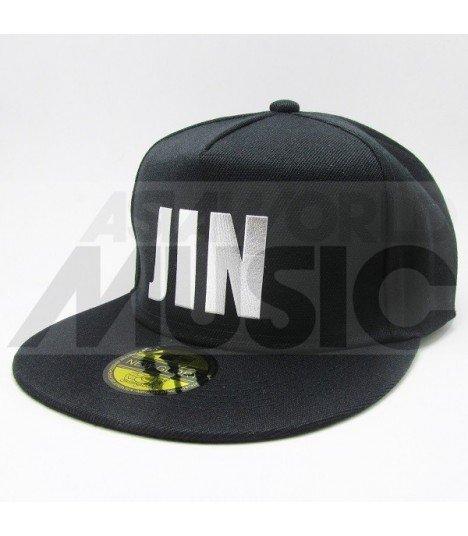 BTS - Casquette JIN (Shiny Silver / Black)