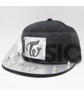 TWICE - Casquette Punk Style TWICE (Silver)