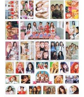Red Velvet - Set de stickers 004
