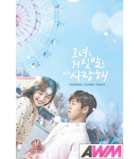 The Liar and His Lover (그녀는 거짓말을 너무 사랑해) Original Soundtrack (édition coréenne)