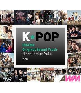 K-POP Drama OST Hit Collection Vol. 4 (2CD) (édition coréenne)