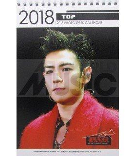 T.O.P (BIGBANG) - Calendrier de bureau 2018 / 2019 (Type A)