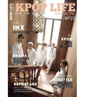 KPOP LIFE Magazine numéro 25 - Octobre/Décembre 2016 (en Français)