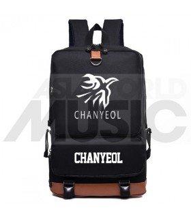 EXO - Sac à dos padded - CHANYEOL / FLAME (Black)