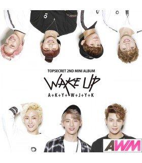 TopSecret (일급비밀) Mini Album Vol. 2 - Wake Up (édition coréenne)