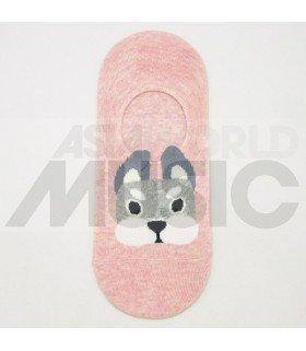 Socquettes Ggorangnae - Bulldog (Pink)