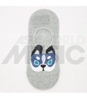 Socquettes Ggorangnae - Bulldog (Grey)