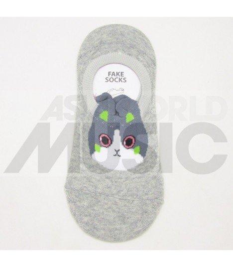 Socquettes Ggorangnae - Rabbit (Grey)