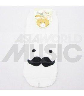 Socquettes Bear Bear - Mr Mustache
