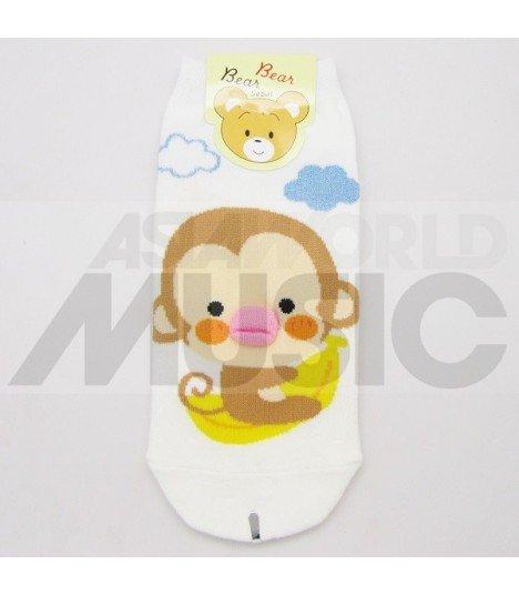 Socquettes Bear Bear - Monkey Kiss Banana