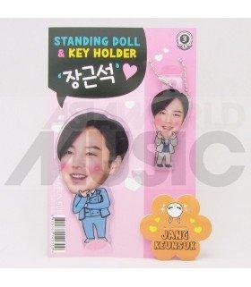 Jang Keun Suk - Standing Doll & Porte-clé