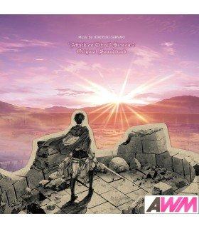 Attack On Titans Season 2 - Original Soundtrack (2CD) (édition japonaise)