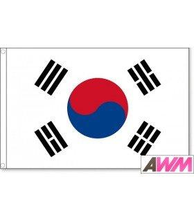 Drapeau de la Corée du Sud (135 x 90 cm)
