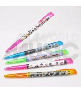 BTS - Set de stylos à bille