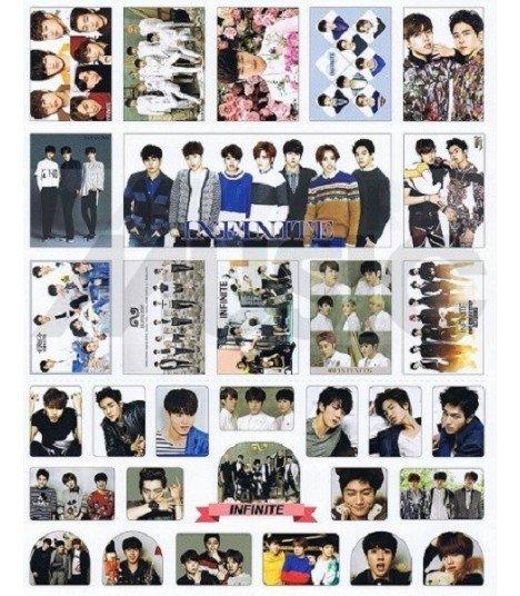INFINITE - Set de stickers 005