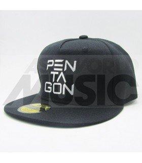 PENTAGON - Casquette PENTAGON (Shiny Silver / Black)