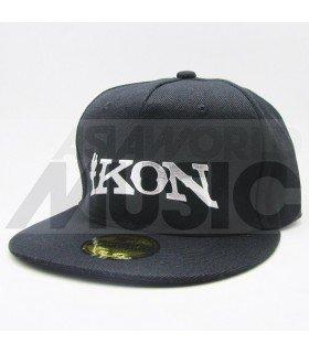 iKON - Casquette iKON (Shiny Silver / Black)