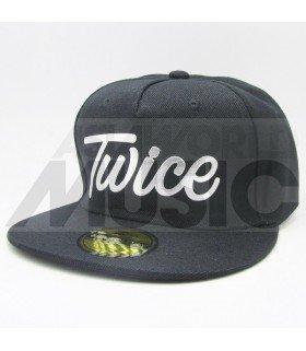 TWICE - Casquette TWICE (Shiny Silver / Black)