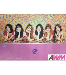 Affiche officielle Apink - Pink Up (Version A)