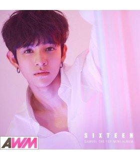 Samuel (사무엘) Mini Album Vol. 1 - SIXTEEN (édition coréenne)