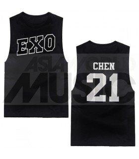 EXO - Débardeur CHEN 21 (Black)