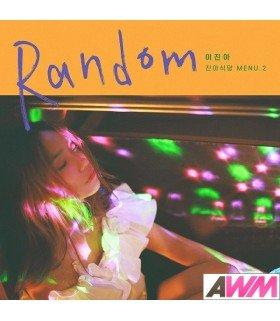Lee Jin Ah (이진아) Mini Album - RANDOM (édition coréenne)