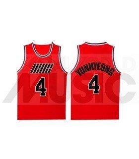 iKON - Maillot de basketball RHYTHM TA - YUNHYEONG 4