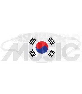Masque KOREA FLAG (White)