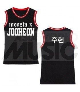 Monsta X - Maillot de basketball JOOHEON