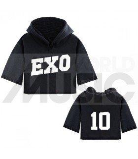 EXO - Sweat à capuche court LAY 10