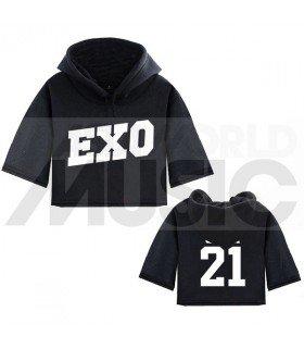 EXO - Sweat à capuche court CHEN 21