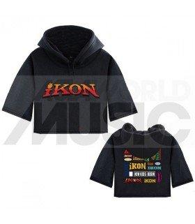 iKON - Sweat à capuche court NEW KIDS: BEGIN