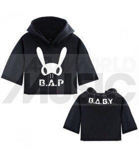 B.A.P - Sweat à capuche court BAP BABY