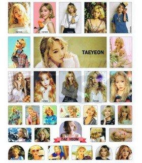 Sticker TAEYEON 001