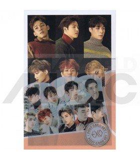 EXO - Post Card Set 001