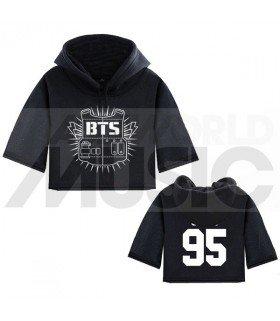 BTS - Sweat à capuche court BULLETPROOF JIMIN 95