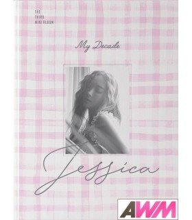 JESSICA (제시카) Mini Album Vol. 3 - My Decade (édition coréenne)