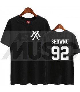 Monsta X - T-shirt MONSTA X - SHOWNU 92 (Black / Coupe unisexe)