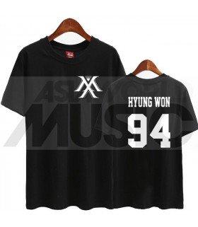 Monsta X - T-shirt MONSTA X - HYUNGWON 94 (Black / Coupe unisexe)