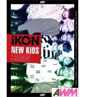 iKON - NEW KIDS: BEGIN (CD+DVD) (édition japonaise)